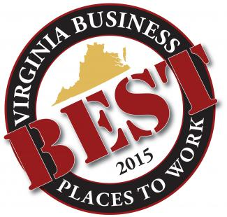 2015 Virginia Businesses Best Places to Work