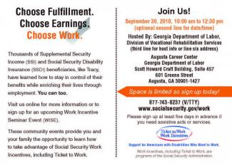 Choose Fulfillment. Choose Earnings. Choose Work. Join Us!