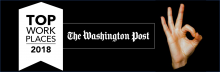 The Washington Post Top Workplaces 2018. New Editions selected as a Top Work Place